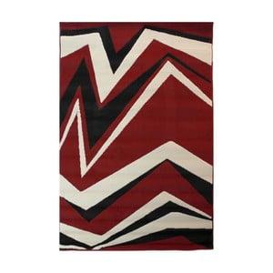 Červený koberec Flair Rugs Element Shard, 120x170cm