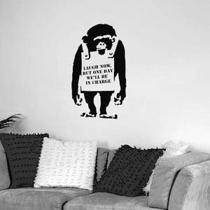 Samolepka na zeď Monkey by Banksy