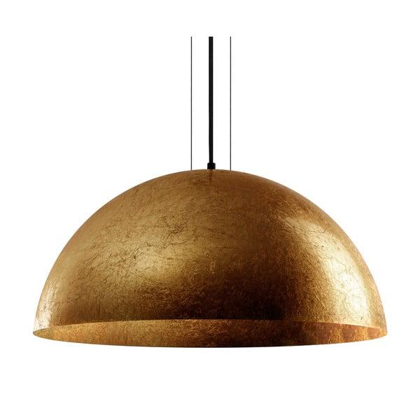 Závěsná lampa ve zlaté barvě Bulb Attack Cuatro, průměr60cm