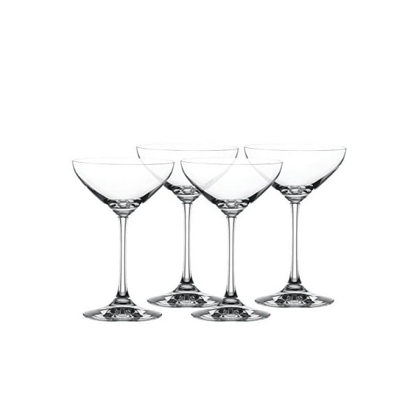 Sada 4 sklenic Dessert Champagne