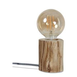 Dřevěná stolní lampa Opjet Paris Peme