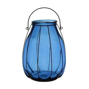 Lucerna Ecoglass Blue, 22x22x32 cm