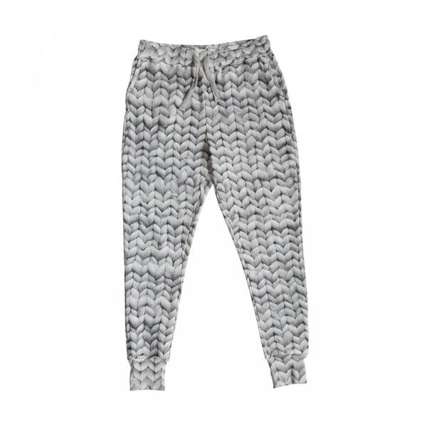Pánské šedé kalhoty Snurk Twirre, vel. XL