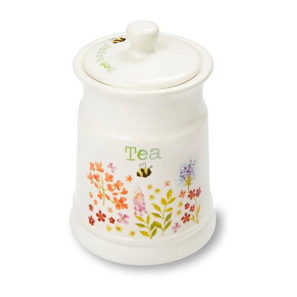 Pojemnik kamionkowy na herbatę Cooksmart ® Flowers