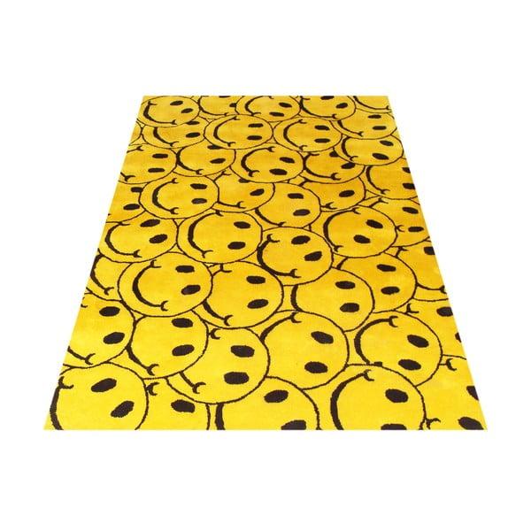 Vlněný koberec Smile, 122x183 cm