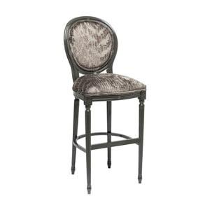 Barová židle z masivního bukového dřeva Kare Design Posh Muddy