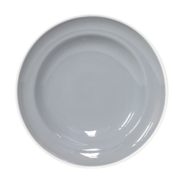 Sada 2 talířů na těstoviny Puck 23 cm, šedý