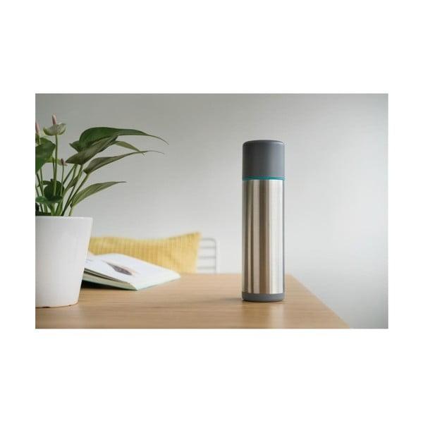 Termos XD Design Torre, argintiu-albastru, 500 ml