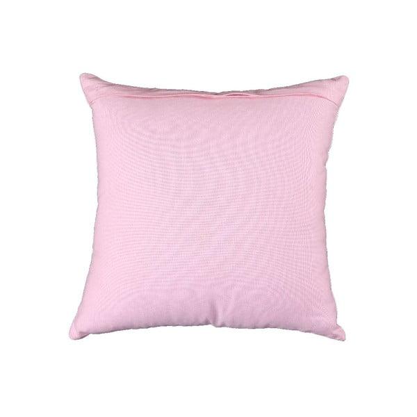 Polštář s náplní Estrella  30x40 cm, růžový