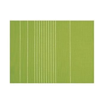 Șervet decorativ Tiseco Home Studio Stripe, 45 x 33 cm, verde imagine