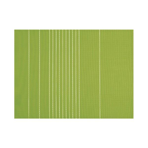 Zielona mata stołowa Tiseco Home Studio Stripe, 45x33 cm