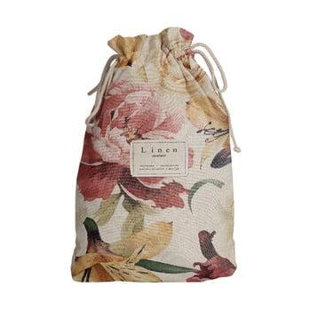 Sac călătorie Linen Couture Spring Flowers, lungime 44 cm imagine