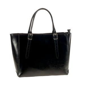Černá kožená kabelka Ore Diece Talla