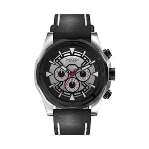 Pánské hodinky Suez 1869, Metallic/Black