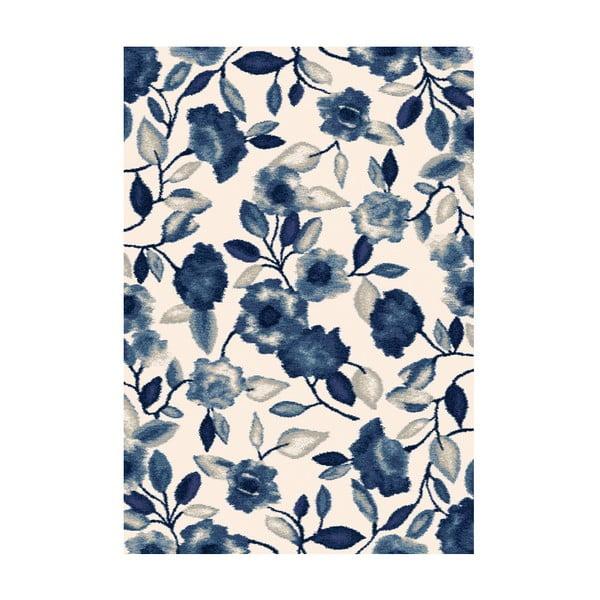 Koberec Milan, 80x150 cm, modrý