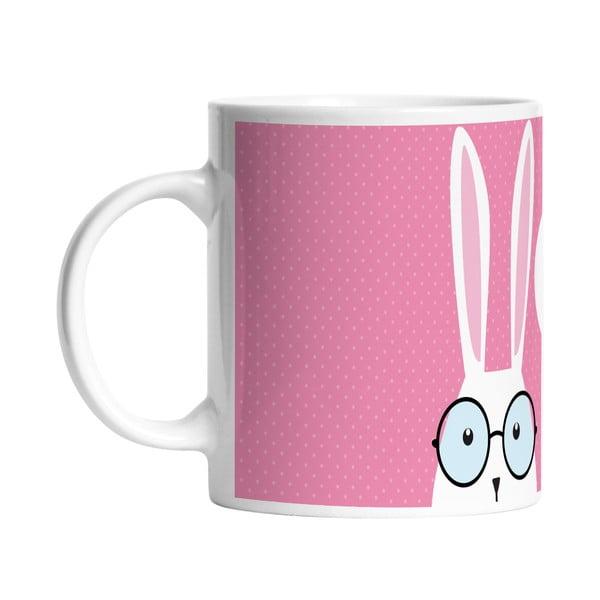 Keramický hrnek Hi Bunny, 330 ml