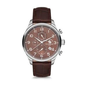 Pánské hodinky s koženým řemínkem Santa Barbara Polo & Racquet Club Hiker