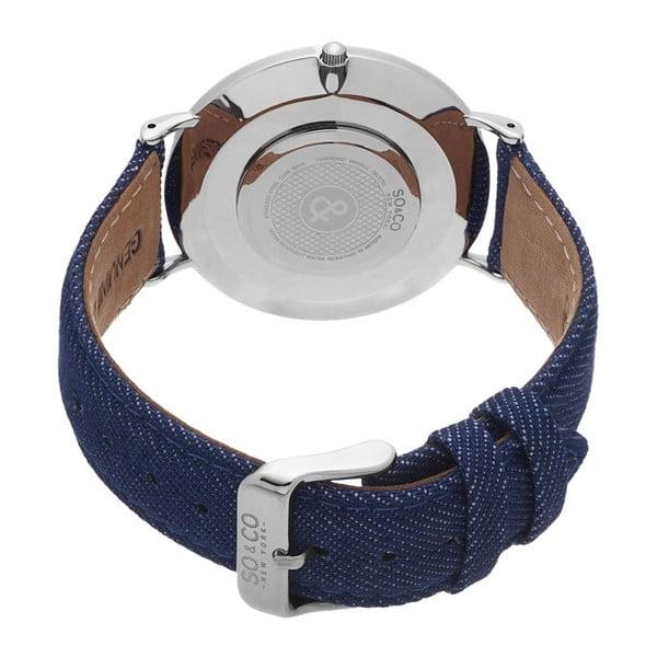 Pánské hodinky SoHo Club Silver/Blue