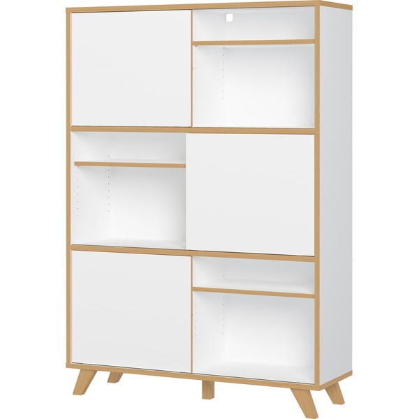 Bílá skříňka Germania Helsinki, výška 172 cm