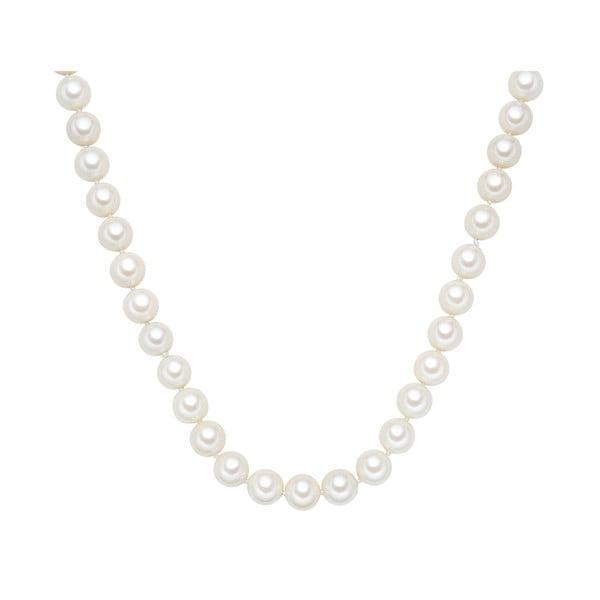 Náhrdelník s bílými perlami ⌀12 mm Perldesse Muschel, délka 80 cm