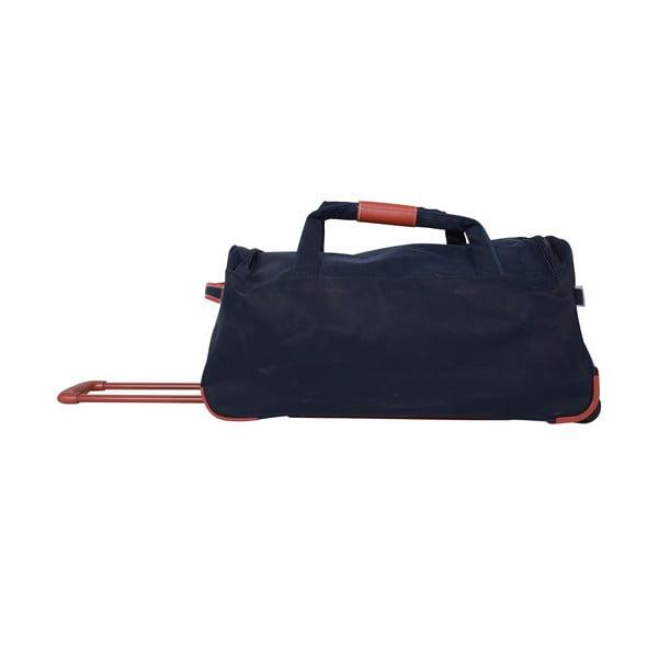 Cestovní taška na kolečkách Jean Louis Scherrer Navy, 60 l