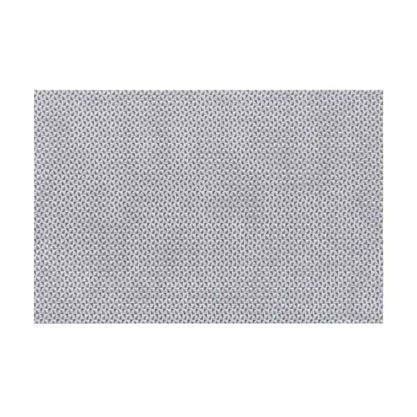 Šedé prostírání Tiseco Home Studio Triangle, 45 x 30 cm
