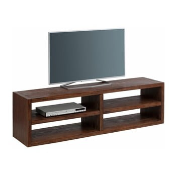 Suport TV lat, din lemn masiv de salcâm Støraa Cubic