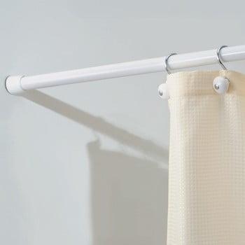 Bară telescopică pentru draperie duș iDesign Cameo, lungime max. 109 cm imagine