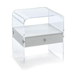 Bílý noční stolek Tomasucci Panolia