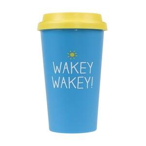 Cană de călătorie Happy Jackson  Wakey Wakey