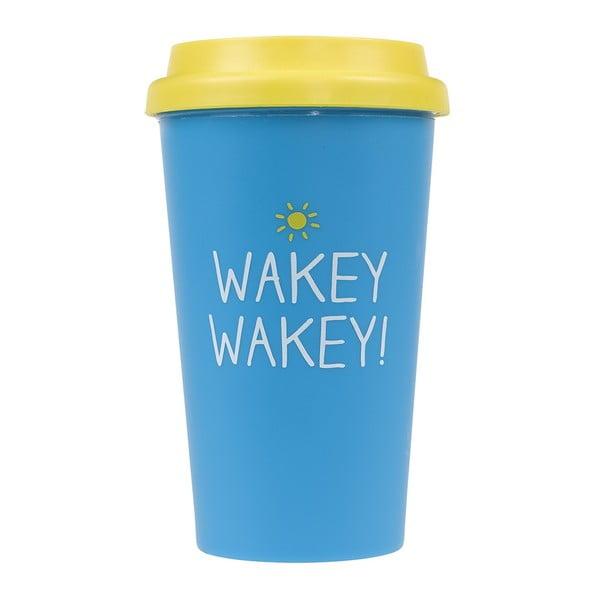 Cestovní hrnek Happy Jackson Wakey Wakey, 400 ml