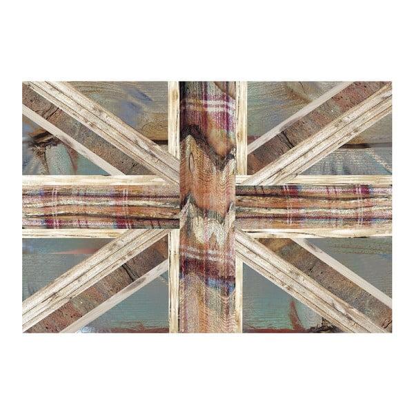 Velkoformátová tapeta Anglická vlajka, 158x232 cm