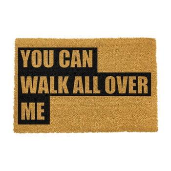 Covoraș intrare din fibre de cocos Artsy Doormats Walk All Over Me, 40 x 60 cm imagine