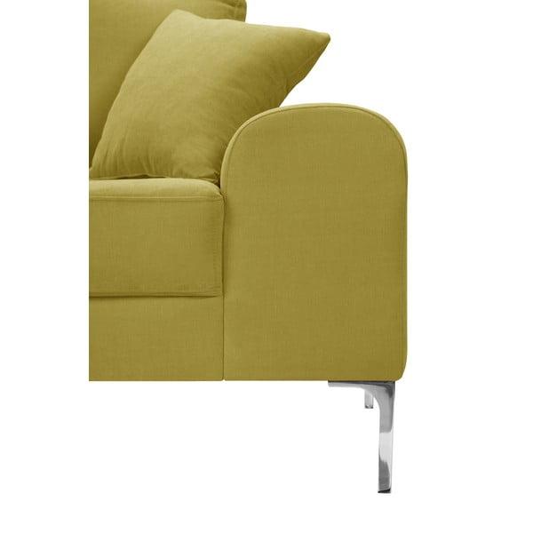 Žlutá rohová lenoška Corinne Cobson Home Dillinger, pravý roh