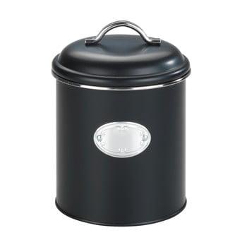 Cutie pentru depozitare cu închidere etanșă Wenko Nero, negru, 1,6 l poza