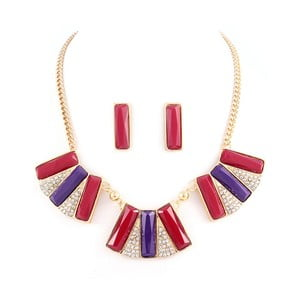 Set náhrdelník a náušnice Ella