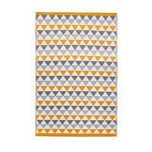 Koberec Mindi 120x180 cm, šedo-oranžový