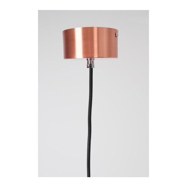 Stropní svítidlo v měděné barvě Zuiver Mora