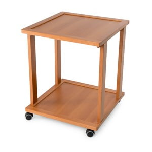 Pojízdný servírovací stolek z bukového dřeva Arredamenti Italia Liola