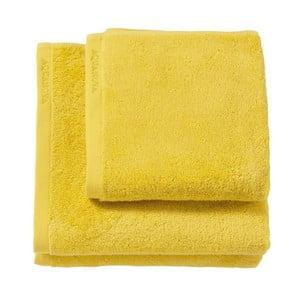 Žlutá osuška z egyptské bavlny Aquanova London, 70x130cm