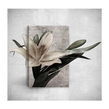 Tablou de perete 3D Mosticx Flower, 40 x 60 cm