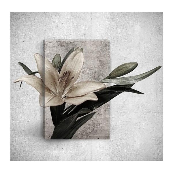 Flower 3D fali kép, 40 x 60 cm - Mosticx