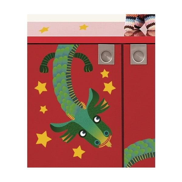 Samolepka na zeď Nekonečný drak