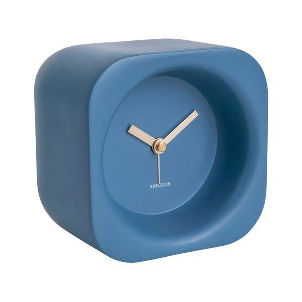 Ceas cu alarmă Karlsson Chunky, albastru