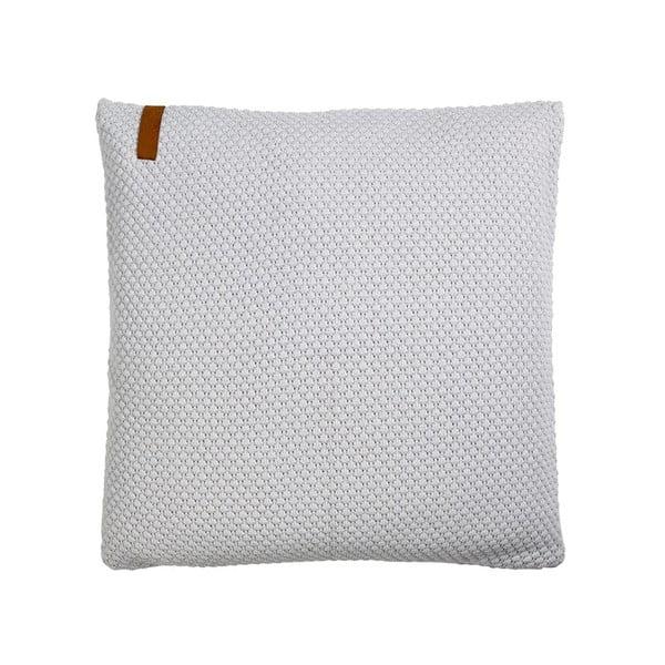 Polštář s náplní Sailor Knit Grey, 50x50 cm