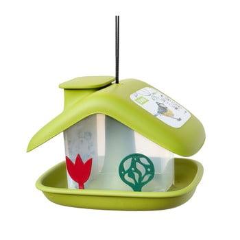 Căsuță pentru păsări Plastia Domek, verde imagine