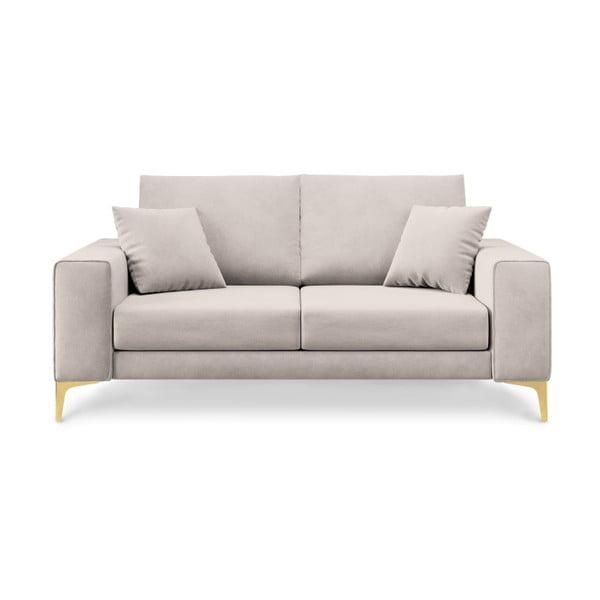 Canapea cu 2 locuri Cosmopolitan Design Basel, bej