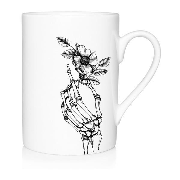 Porcelánový hrnek We Love Home Skeleton, 300 ml