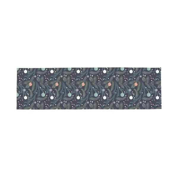 Bawełniany dywan ze świątecznym motywem Butter Kings Christmas Deco, 140x40 cm
