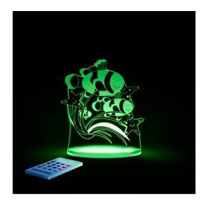 Dětské LED noční světýlko Aloka Fish